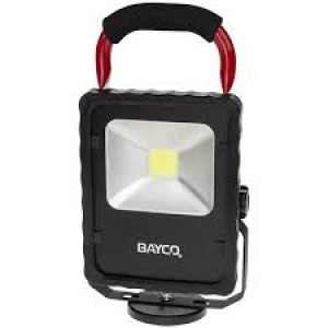 BAYCO 2,200 Lumen LED Single Fixture Work Light w/Magnetic Base