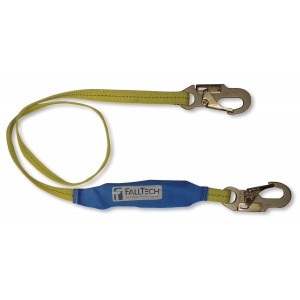 FallTech 7256LT SoftPack 6-Foot Shock Absorbing Lanyard