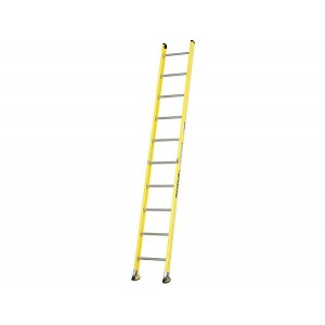 Featherlite Super-Heavy Duty Fiberglass Straight Ladders
