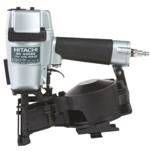 "Hitachi HNV45AB 1-3/4"" Coil Roofing Nailer"