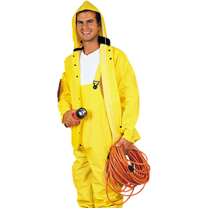 Value Brand 3Pc Heavy Duty Rain Suit