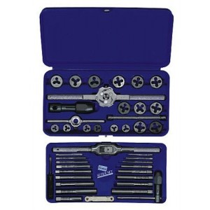 Irwin Industrial Tools 26317 Metric Tap and Hex Die Set, 41-Piece