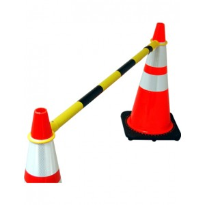 Adjustable Safety Cone Bar 6'-10'