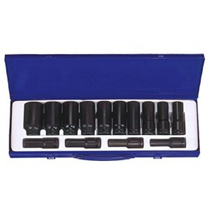 "KT PRO A4406SP 14 PC SAE DP 1/2"" Drive Socket Set"