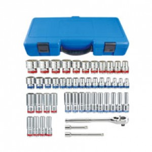 KT PRO A4505CR 47Pc SAE & Metric Socket Set