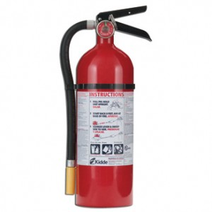 Kidde PR0-5TCM Multi-Purpose Tri-Classic ABC Fire Extinguisher