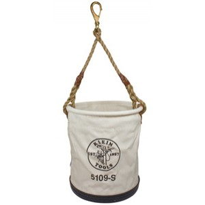 Klein Wide-Opening Straight-Wall Bucket - Swivel Snap 5109S
