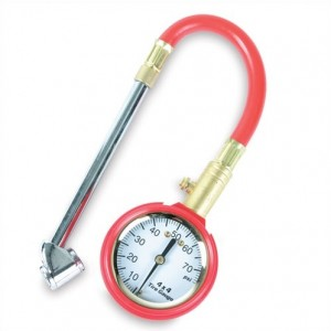 "Legacy TH0305 Swivel Dual fill w/ Hose 2"" Tire Gauge"