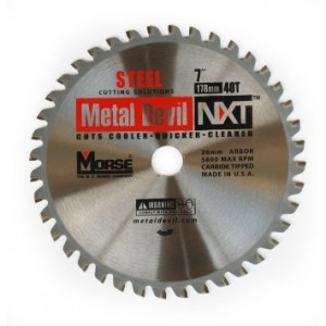 M.K. Morse CSM740NSC 7 In. 40 TPI Circular Saw Blade Carbide