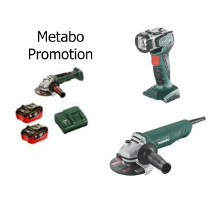"Metabo 4-1/2"" 18v WPB18LTX115Q QUICK CORDLESS GRINDER KIT"