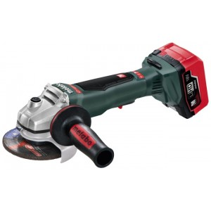 "Metabo 4-1/2"" 18v WPB18 LTX115 QUICK CORDLESS ANGLE GRINDER KIT"