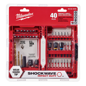 Milwaukee 48-32-4406 40-Piece Shockwave Impact Driver Bit Set