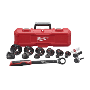 "Milwaukee 49-16-2694 EXACT 1/2"" to 2"" Hand Ratchet Knockout Set"
