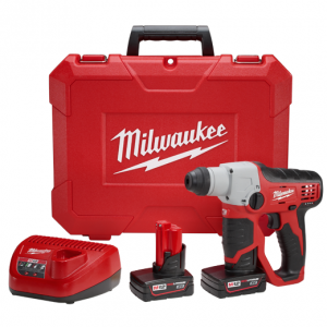 Milwaukee 2412-22XC M12 12-Volt Lithium-Ion Cordless 1/2 in. SDS-Plus Rotary Hammer