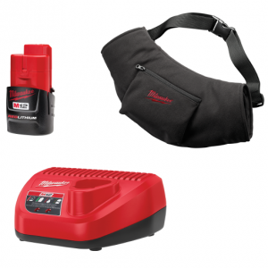 Milwaukee 2322-21 M12 Black Heated Hand Warmer Kit