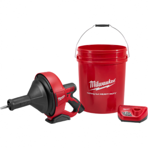 Milwaukee 2571-21 Drain Snake Cleaner M12 Kit