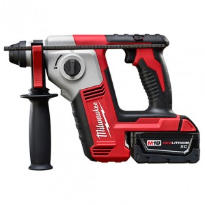 "Milwaukee 2612-21 18v Lithium 5/8"" SDS Plus Rotary Hammer Kit (1 Battery)"