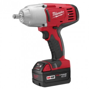 "Milwaukee 2663-22 1/2"" High Torque Impact Wrench with Friction Ring (Kit)"