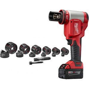 "Milwaukee 2676-22 18v Lithium 1/2""-2"" Force Logic High Capacity Knockout Kit"