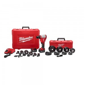 "Milwaukee 2676-23 18v Lithium 1/2""-4"" Force High Capacity Knockout Kit"