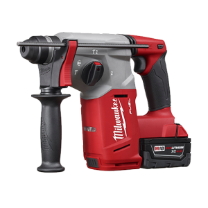 "Milwaukee 2712-22 Fuel 18v Lithium Brushless 1"" SDS Plus Rotary Hammer Kit"