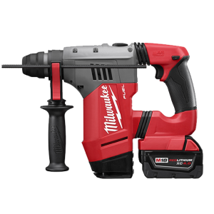 "Milwaukee 2715-22 Fuel 18v Lithium Brushless 1-1/8"" SDS Plus Rotary Hammer Kit"