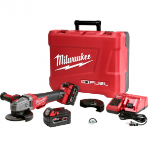 "Milwaukee 2783-22 M18™ FUEL™ 4-1/2"" / 5"" Braking Grinder Kit"
