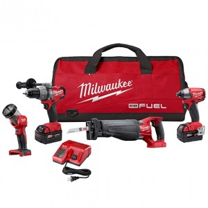 Milwaukee 2796-24 M18 FUEL™ LITHIUM-ION 4-Tool Combo Kit