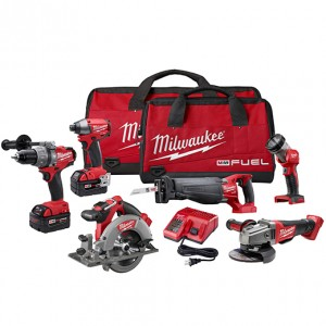 Milwaukee 2796-26 M18 FUEL™ LITHIUM-ION 6-Tool Combo Kit