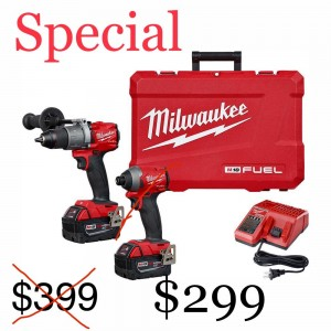 Milwaukee 2997-22 Fuel 2pc 18v 5.0 Kit