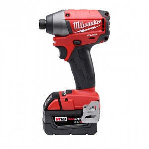 "Milwaukee 2653-22 Fuel 18v Lithium Brushless 1/4"" Hex Impact Driver XC Battery Kit"