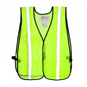 PIP Non-ANSI One Pocket Mesh Safety Vest 300-EVOR-ELY