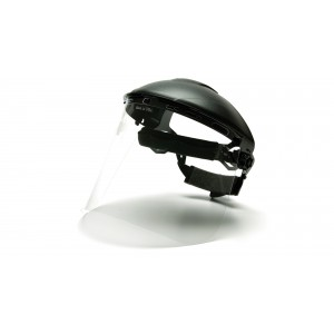 PYRAMEX SAFETY S1020 IMPACT POLYCARBONATE FACE SHIELD