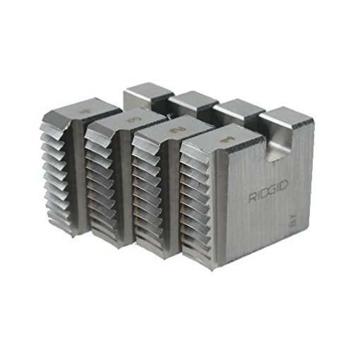 Right-Handed Alloy NPT Pipe Dies with Nominal Pipe Size of 2-Inches for Ratchet Threaders or 3-Way Pipe Threaders RIDGID 37850 Manual Threader Pipe Dies
