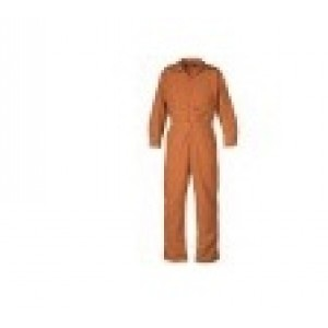 Saf-Teck JSZP14 6 OZ NOMEX IIIA ZIPPERED FRONT OIL FIELD COVERALL