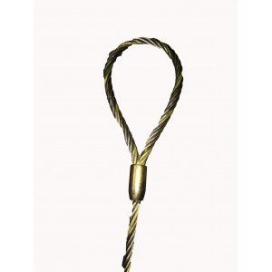 "Safeway  1/2"" Eye to Eye Wire Rope Sling"