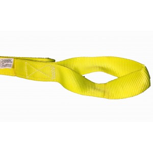 "Nylon Lifting Sling 2 ply - 2"" Eye to Eye Made In USA"