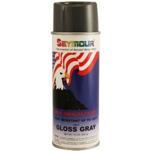 Seymour 10-7 Gray Crest American Spray Paint