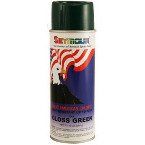 Seymour 10-8 Green Crest American Spray Paint