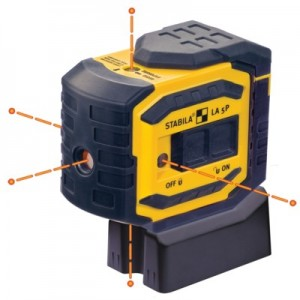 Stabila Level LA-5P LaserBob 5 Point Laser