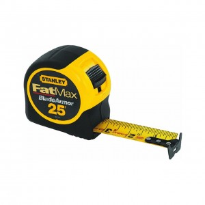Stanley 33-725 25-Foot-by-1-1/4-Inch FatMax Tape Measure with Blade Armor