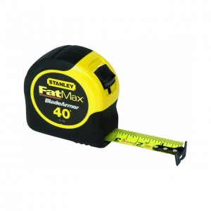 Stanley 33-740 FatMax 40-Foot Tape Measure with BladeArmor Coating