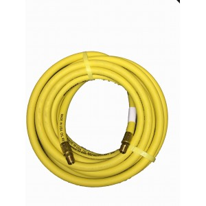 "Goodyear 50'x 3/8"" Yellow Rubber Air Hose"