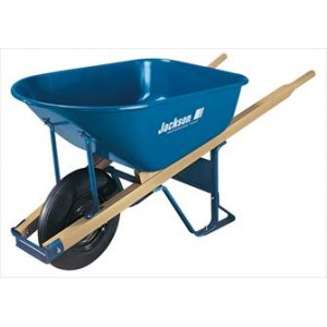 Jackson Professional Tools M6T22 Jackson Contractors Wheelbarrow