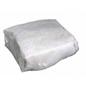 Value Brand 10 lb Bag of Rags White