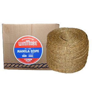"Frank Winne & Sons 16020 1/2"" X 600' Natural Fiber Manila Rope"
