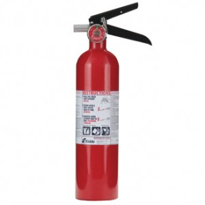 Kidde PRO-2-1/2TCM  Tri-Class Dry Chemical Fire Extinguisher