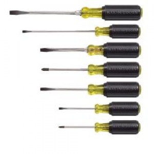 Klein  7-Piece Cushion-Grip Screwdriver Set 85076