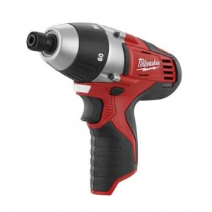 Milwaukee 2455-20 M12 12-Volt Lithium-Ion Cordless 1/4 in. No-Hub Coupling Driver (Tool-Only)