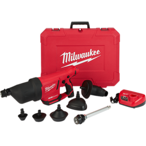 Milwaukee 2572B-21 Air Snake with attachments